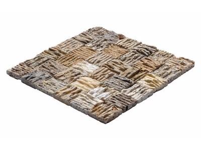 Çizik Mozaikler 5 X 5 SCABAS TRAVERTINE (6 MM HATCH) (K-076)