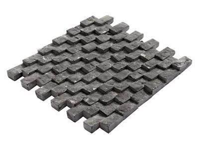 Damla Mozaikler 2,5 X 5   KONYA BLACK (K-368)